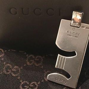 Gucci Jewelry - Gucci Gemini 925 Silver Pendant